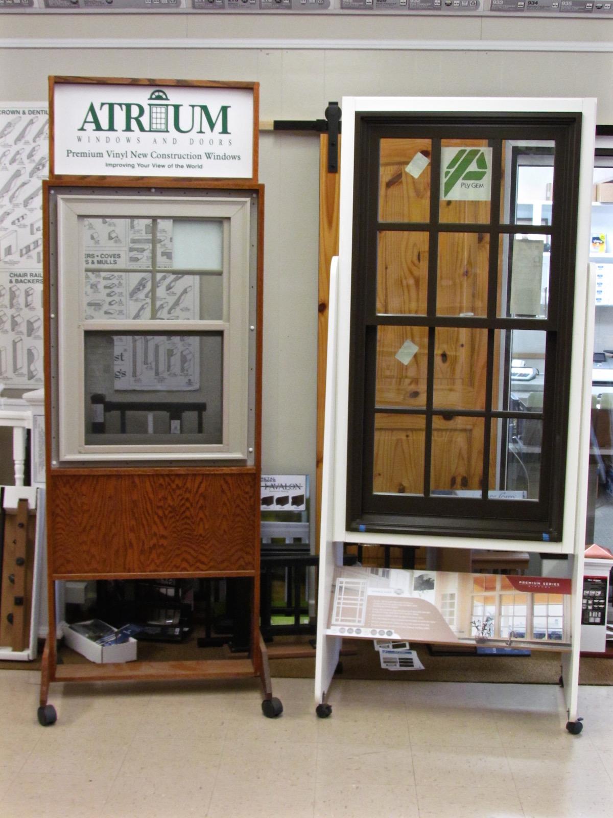 Wall Lumber Company - windows
